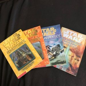 📚4 Star Wars books in great/excellent condition